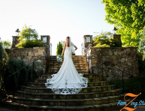 USC Upstate Arboretum Bridal Portraits | Morgan + Hays