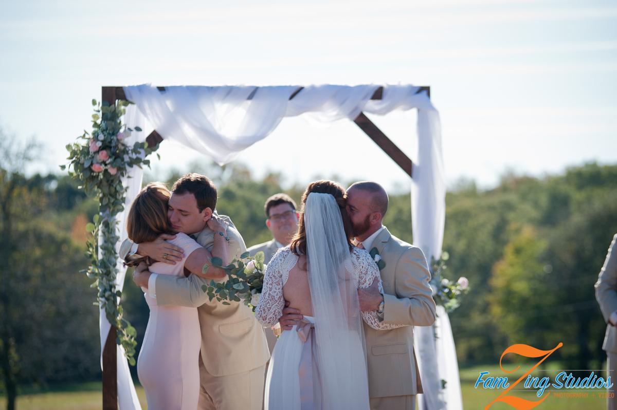 Easley Wedding - FamZing Wedding Photography