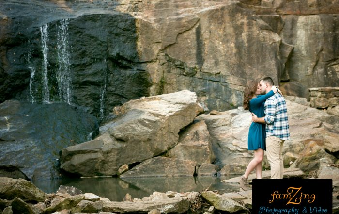 FamZing Engagements - Rock Quarry Garden