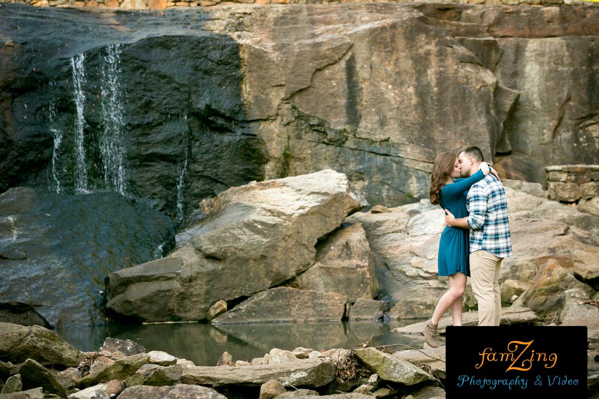 FamZing Engagements - Rock Quarry Garden