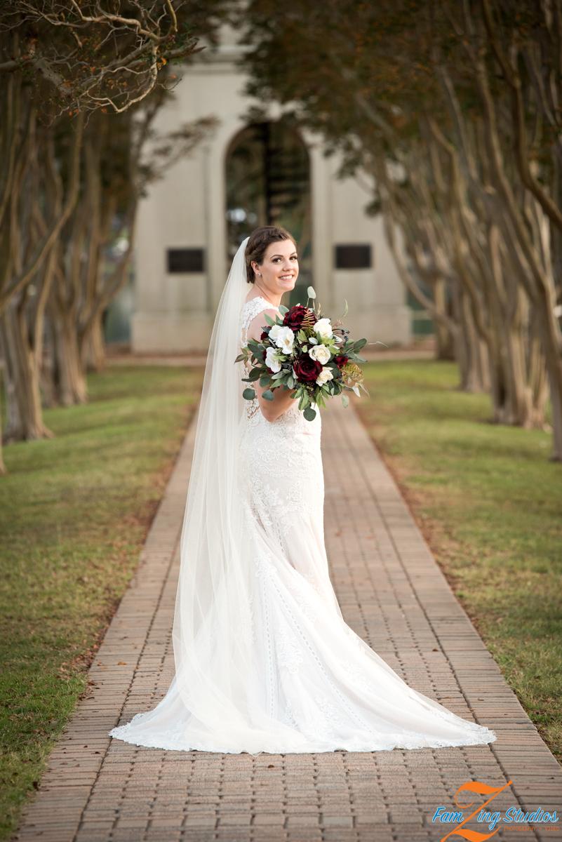 Furman Bridal Portraits