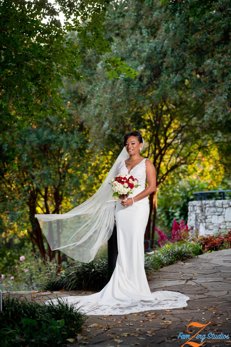 Falls Park Bridal Portraits